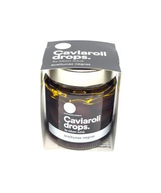 Aceituna  negra Caviaroli 170 gr