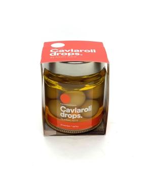Aceituna  verde picante Caviaroli 170 gr
