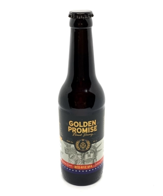 CERVEZA GOLDEN PROMISE RED RYE IPA 33cl