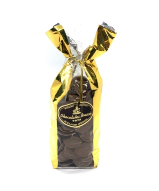 MEDALLONES DE CHOCOLATE NEGRO 250gr