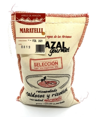 Arroz variedad maratelli 500gr.