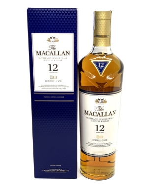 WHISKY MACALLAN 12 AÑOS DOUBLE CASK 70cl ESTUCHADO