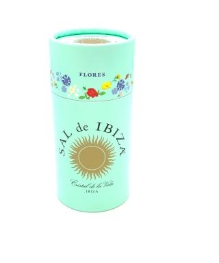 Sal de Ibiza con flores75gr